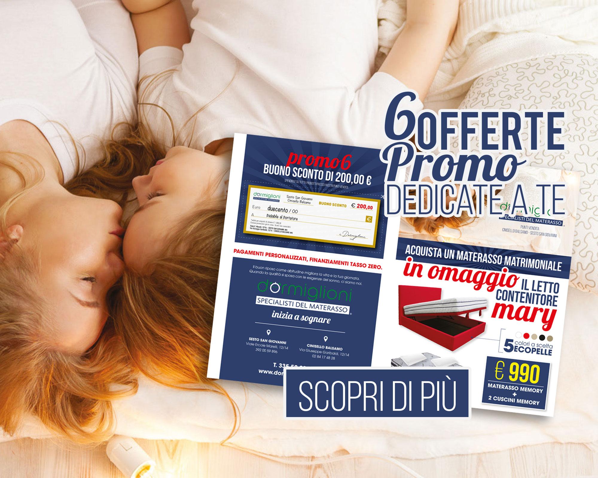 DORMIGLIONI - Vendita Materassi - Made in ITALY